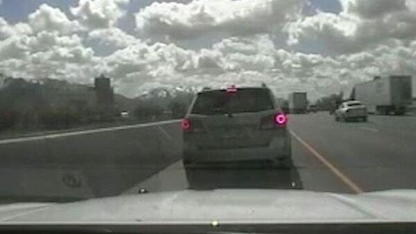 Видео из машины полиции штата Юта: задержание пятилетнего водителя