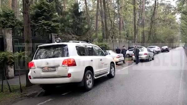 Опубликовано видео с места самоубийства миллиардера Босова