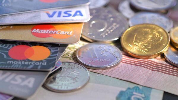 Банковские карты и деньги.
