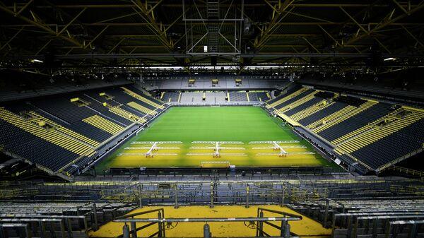 Стадион дортмундской Боруссии