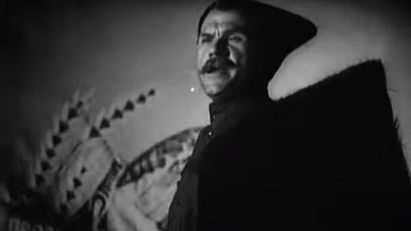 Кадр из фильма Чапаев с нами(1941)