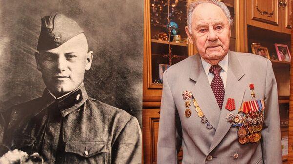 Белорусский ветеран Александр Иванович Слобода