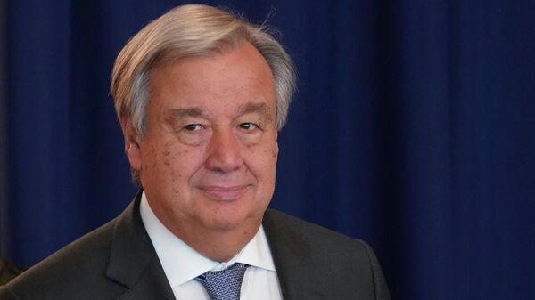 Генеральный секретарь Организации Объединенных Наций Антониу Гутерреш