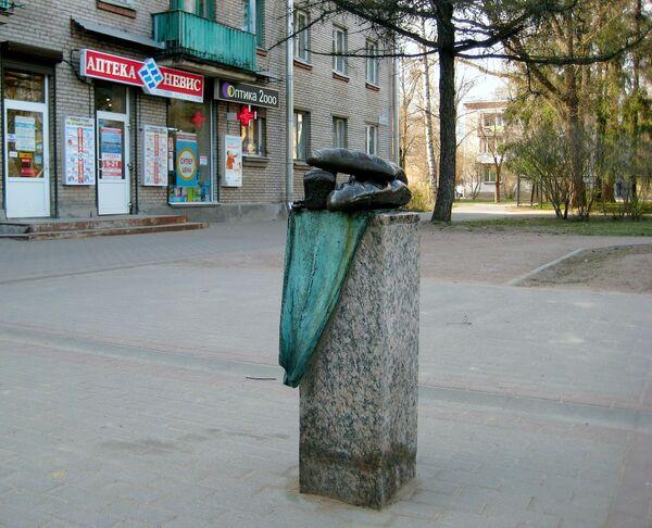 Скульптура Хлеб в Зеленогорске