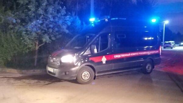 На месте пожара в частном хосписе в Красногорске