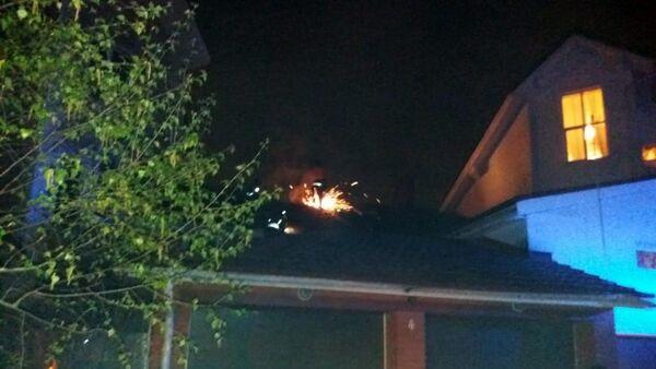 Частный хоспис в Красногорске, где в результате пожара погибли 9 человек