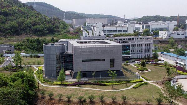 Здание лаборатории P4 в институте вирусологии в Ухани, КНР