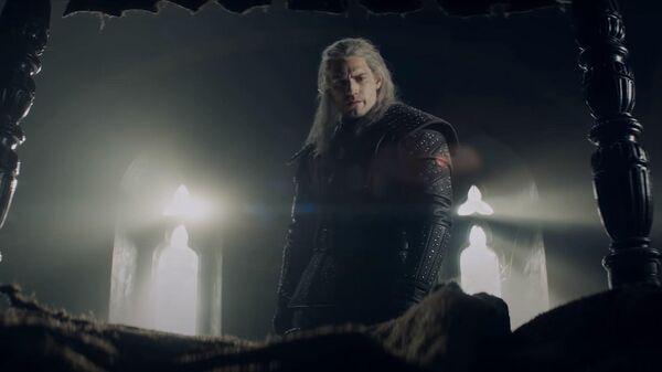 Кадр из видео о происхождении монстров, показанных в сериале Ведьмак
