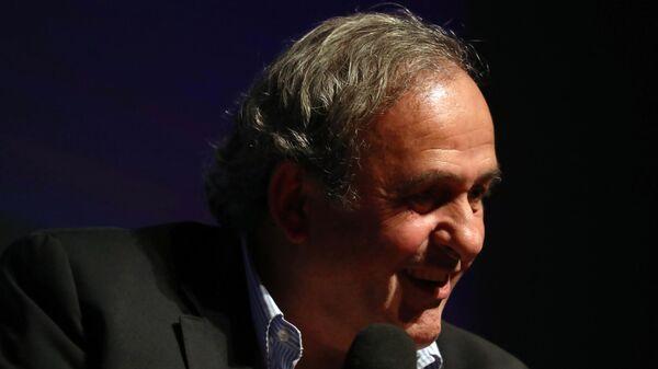 Бывший президент Союза европейских футбольных ассоциаций (УЕФА) Мишель Платини