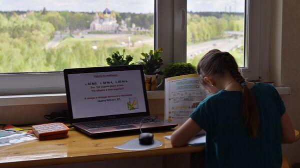 Дистанционное обучение школьников