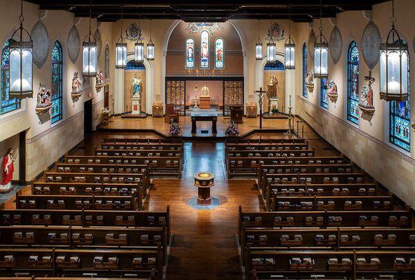 Церковь Святого Антония. Скенектади, США. Lacey Thaler Reilly Wilson Architecture & Preservation, LLP, номинация Restoration