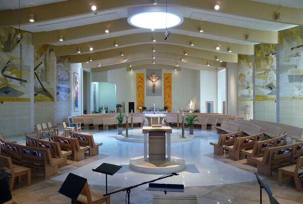 Церковь Святой Анны. Бостон, США. Stephen Lee Architects, номинация Renovation