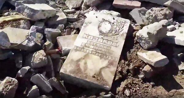 В Пермском крае не стали возбуждать дело из-за дороги с надгробиями