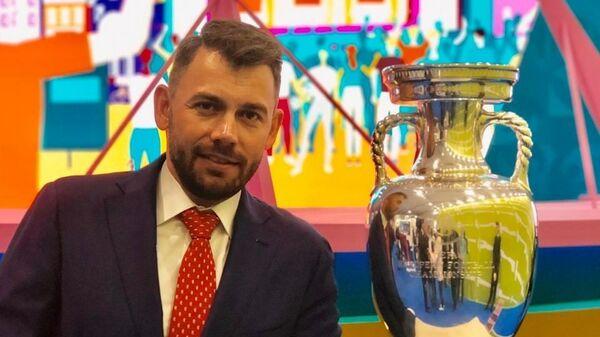 Четырехкратный чемпион мира по биатлону Николай Круглов