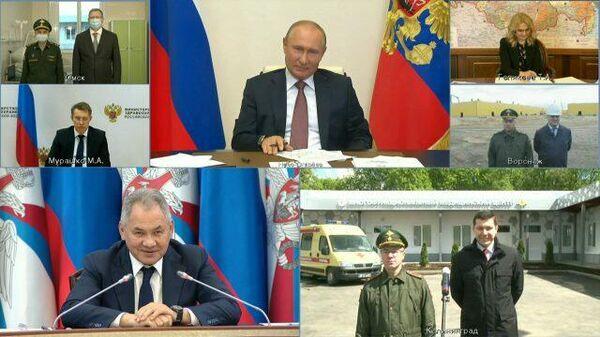 Путин во время совещания назначил военного из Калининграда начальником госпиталя