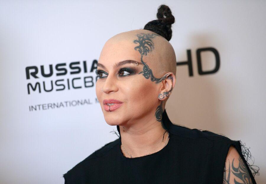 Певица Наргиз Закирова на четвертой Реальной премии MUSICBOX 2016