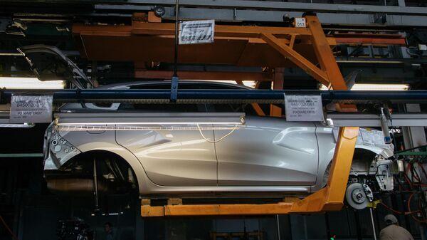 Презентация новой Lada Granta  на заводе «АвтоВАЗ» в Тольятти