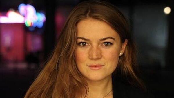 Главный редактор русскоязычной версии сайта Ruptly Мария Дьяконова