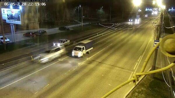 Lexus за несколько секунд до смертельной аварии
