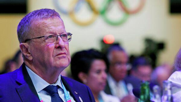 Глава координационной комиссии Международного олимпийского комитета (МОК) Джон Коутс