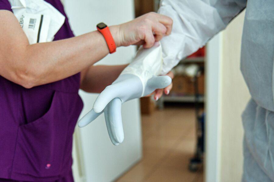 Работа студентов в больницах