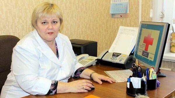 Заведующая первым кардиологическим отделением городской больницы № 26 Галина Литвинова