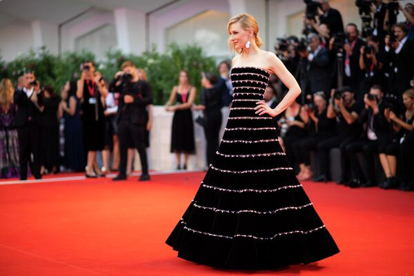 Актриса Кейт Бланшетт на 76-м Венецианском кинофестивале в Италии