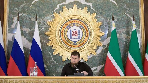 Глава Чечни Рамзан Кадыров провел заседание оперштаба по борьбе с распространением коронавируса
