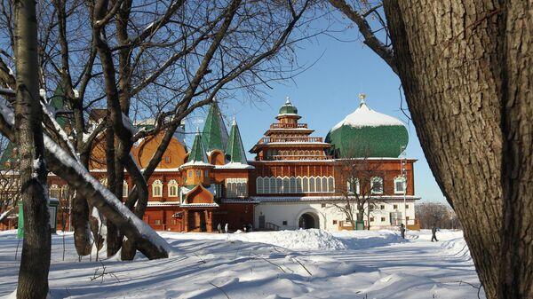 Дворец царя Алексея Михайловича в музее-заповеднике Коломенское