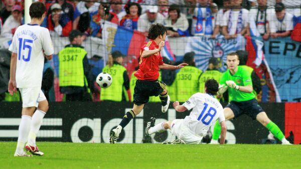Россия - Испания, Евро-2008