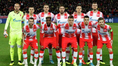 Футболисты Црвены Звезды