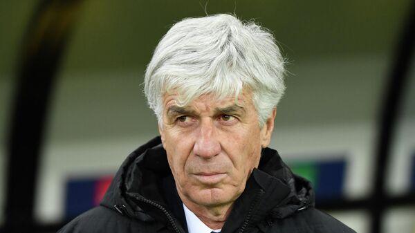 Главный тренер футбольного клуба Аталанта Джан Пьеро Гасперини