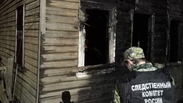 Последствия поджога объектов культурного наследия в Новой Ладоге
