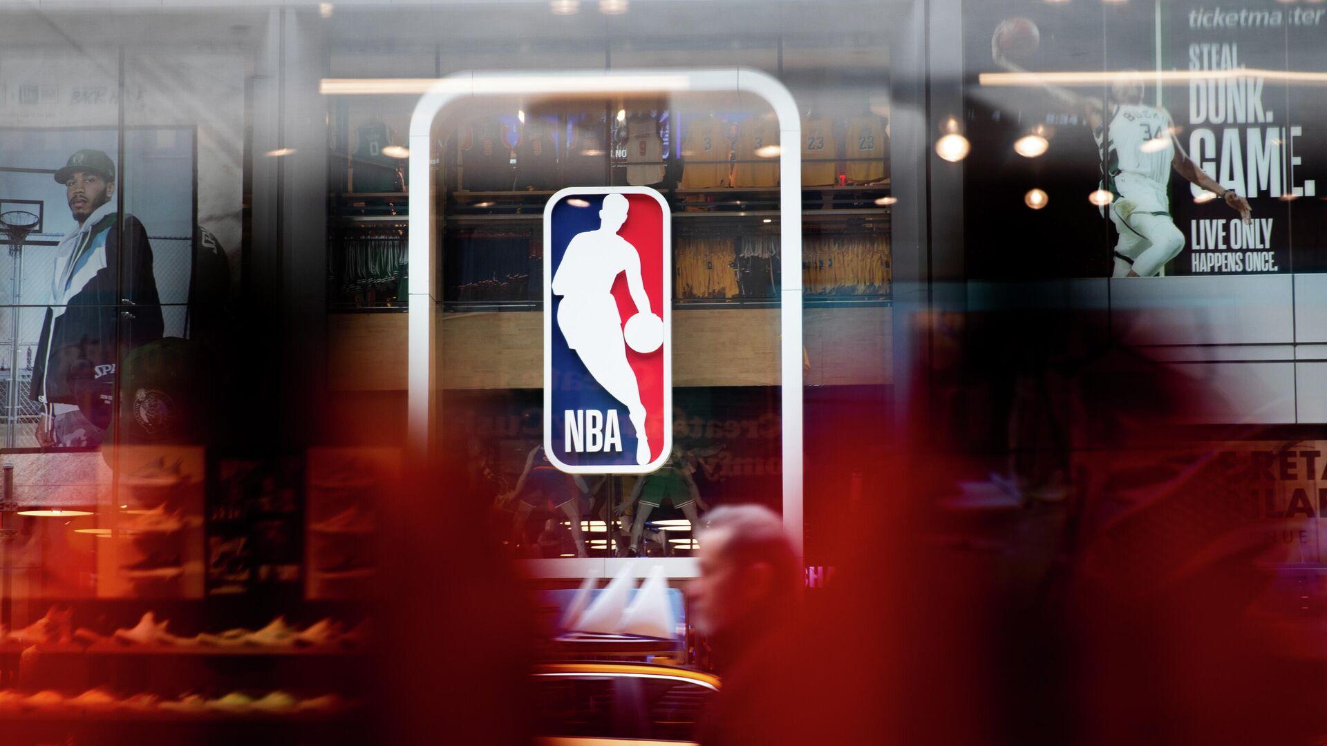Логотип Национальной баскетбольной ассоциации (НБА) - РИА Новости, 1920, 14.01.2021