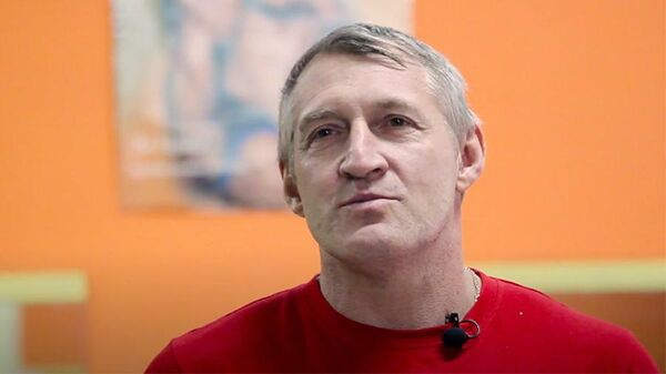 Чемпион мира по пауэрлифтингу Андрей Трайбер