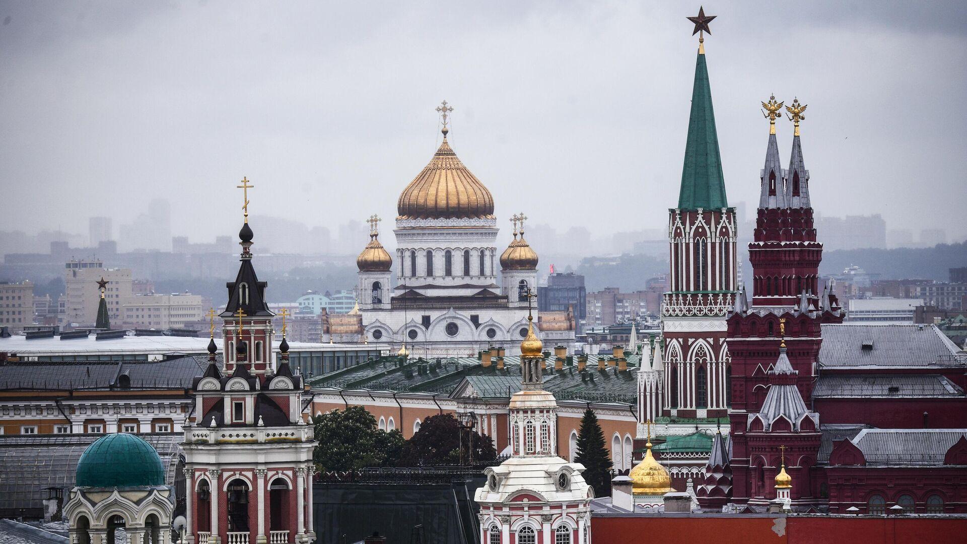 Храм Христа Спасителя в Москве - РИА Новости, 1920, 07.05.2021
