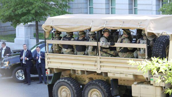 Бойцы Нацгвардии США, охранявшие Вашингтон, вернутся домой ко вторнику