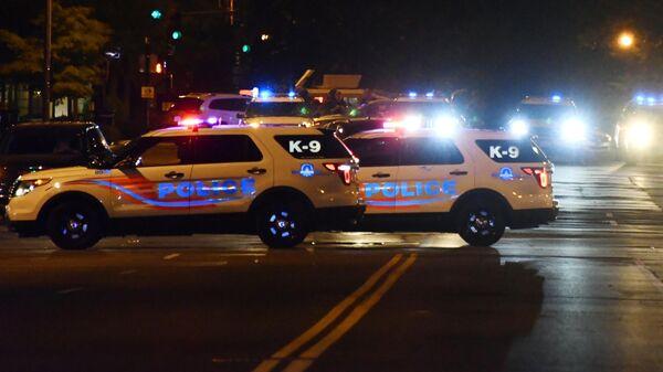 Машины полиции в Вашингтоне