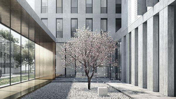 Проект комплекса апартаментов на улице Нижняя Масловка в Москве