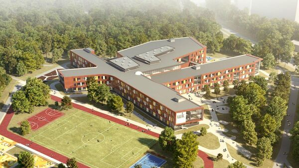 Проект школы на 2,1 тысячи мест