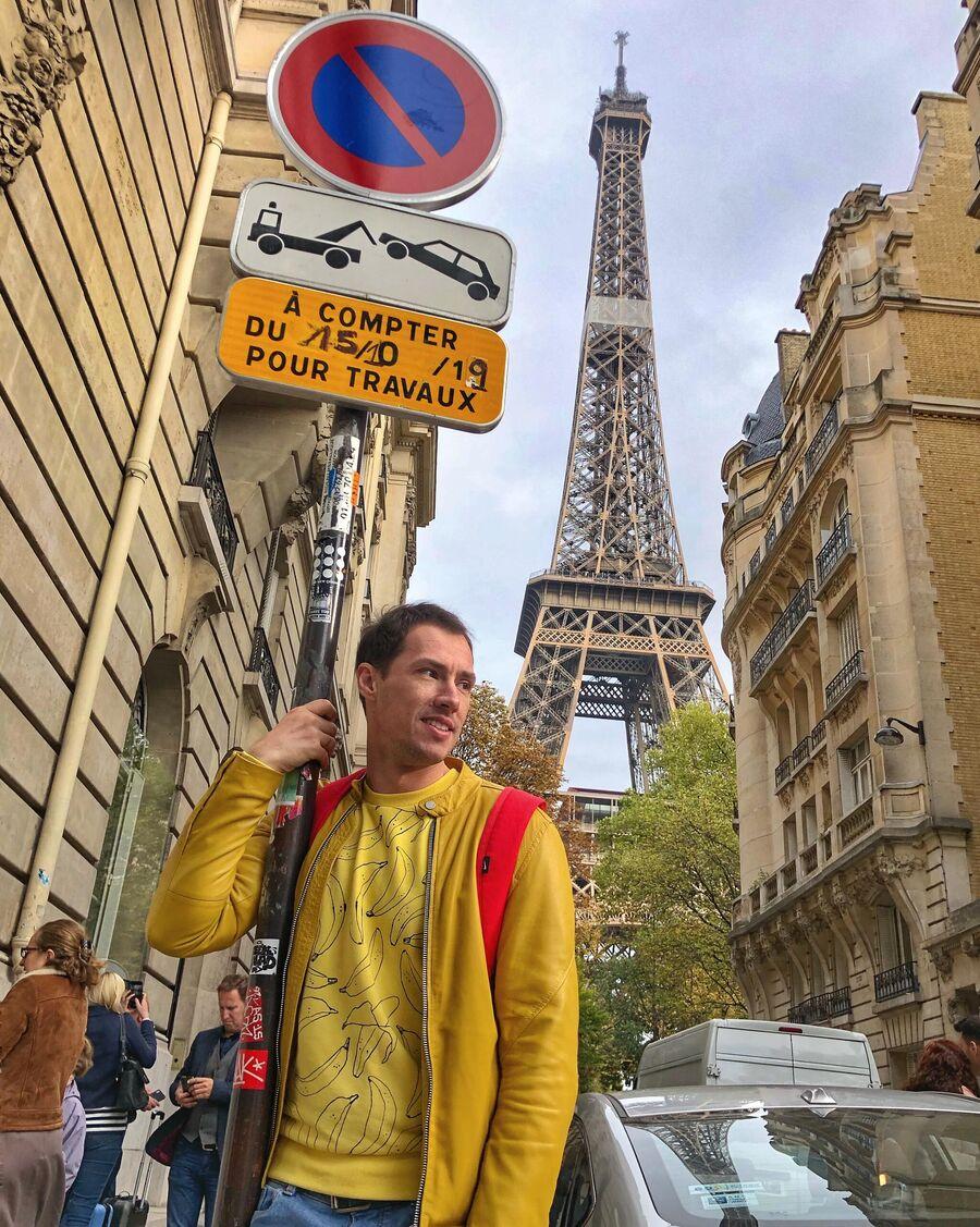 Тимур Еремеев в Париже