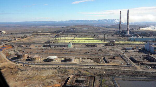Норильская ТЭЦ-3, где произошла утечка около 21 тысячи кубометров дизтоплива, часть их них попала в местный ручей и реку Амбарную