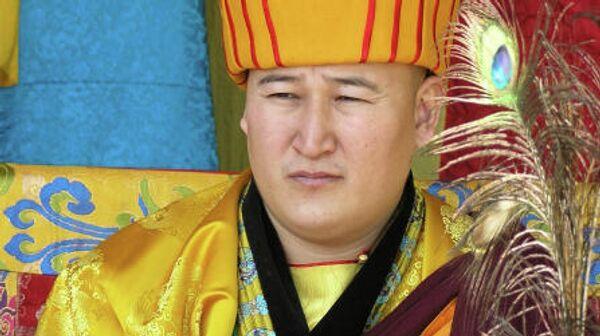 Верховный лама Тувы Джампел Лодой