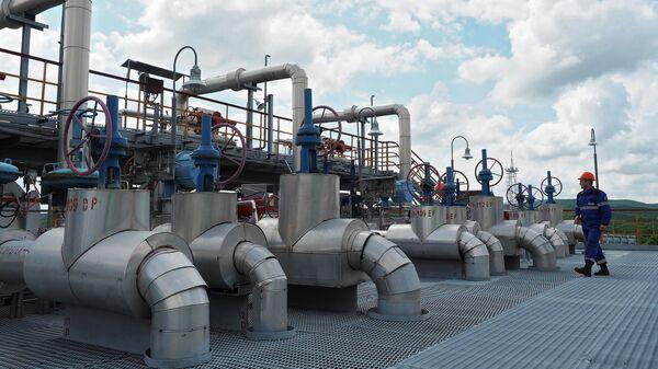 Комплекс подготовки и транспортировки газа