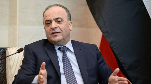 Председатель совета министров Сирии Имад Хамис