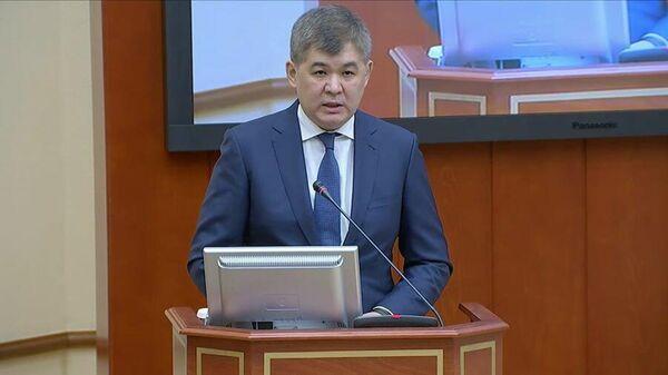 Министр здравоохранения Республики Казахстан Елжан Биртанов
