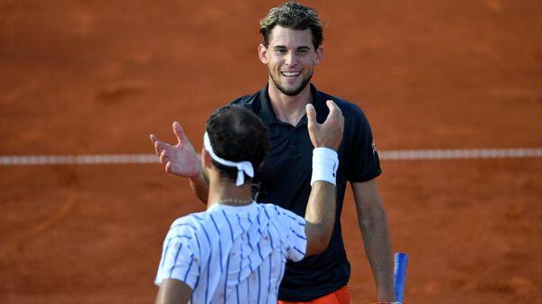 Теннисисты Доминик Тим и Филип Крайинович