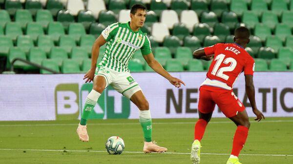 Игровой момент матча Бетис - Гранада