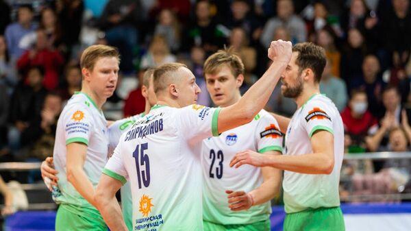 Волейболисты уфимского Урала