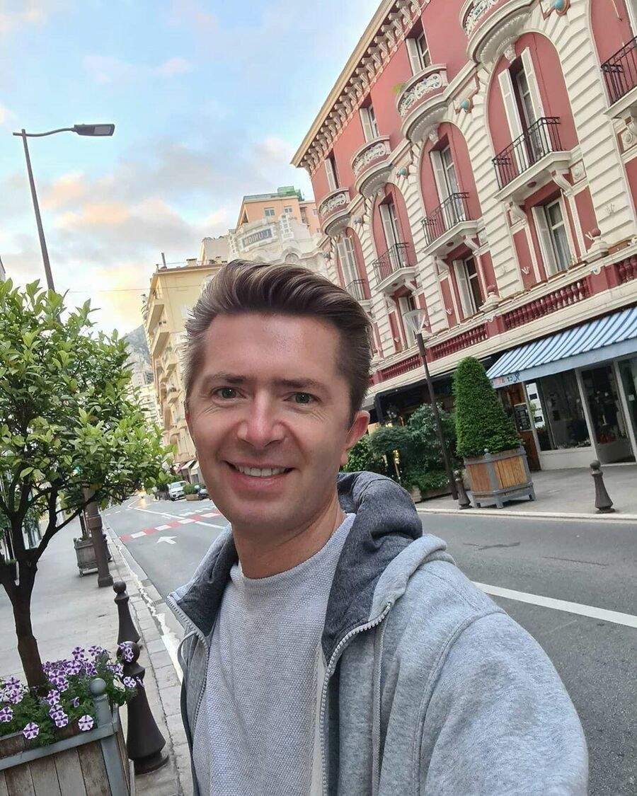 Александр Селезнев в Монте-Карло. Монако